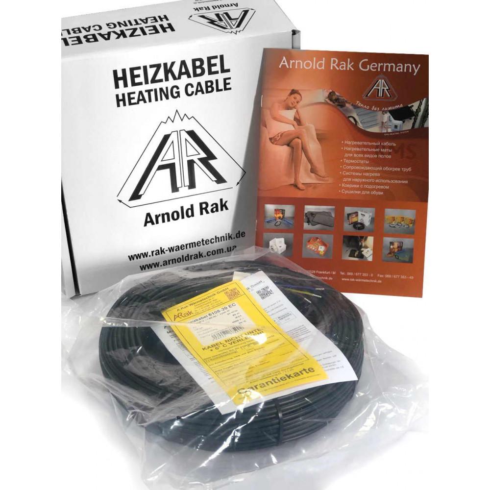 Теплый кабельный пол Arnold Raк серии Standart 6110-20 ЕС, 1600 Вт 8,0 - 12,3 м2