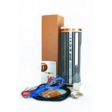 Комплект теплого пола HotFilm 1 м2  с терморегулятором RTC-70 (механика)