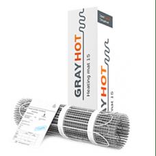 Нагревательный мат Gray Hot 92 - 0,6 м2
