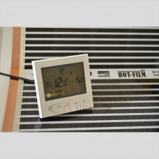 Терморегулятор сенсорный программируемый  Termopapa AB03Sens-White