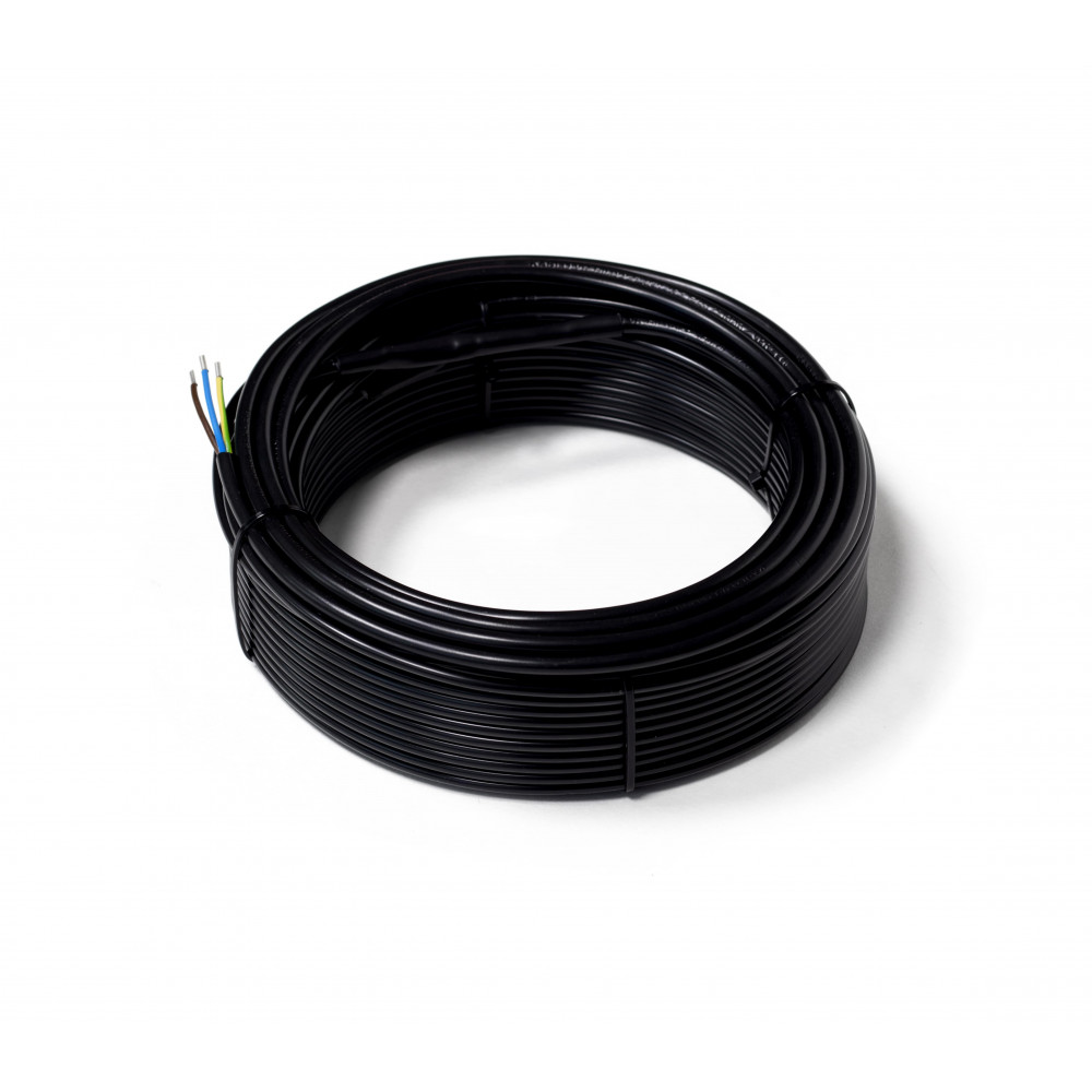 Тонкий двухжильный нагревательный кабель FLEX EHC  263 Вт (15 м) (S 1,5-1,8 м2)