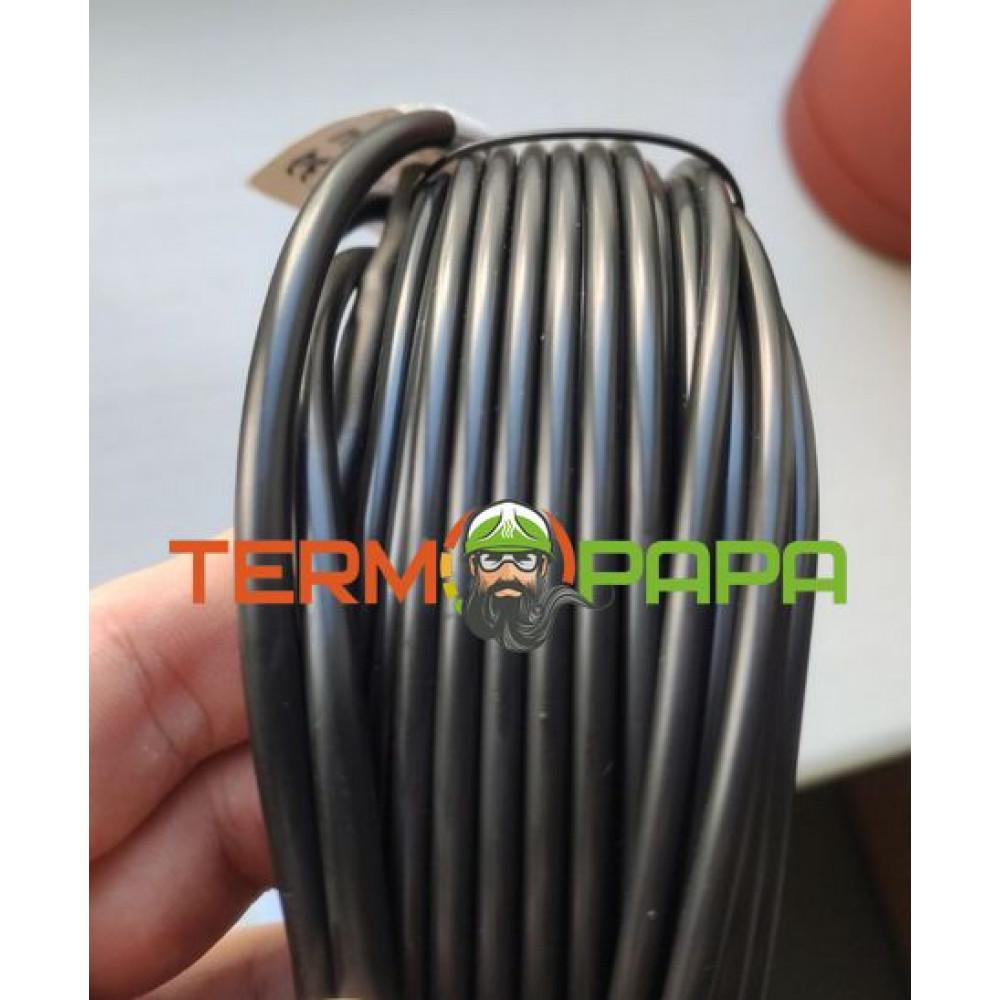 Тонкий двухжильный нагревательный кабель FLEX EHC  1750 Вт (100 м) (S 10-12 м2)