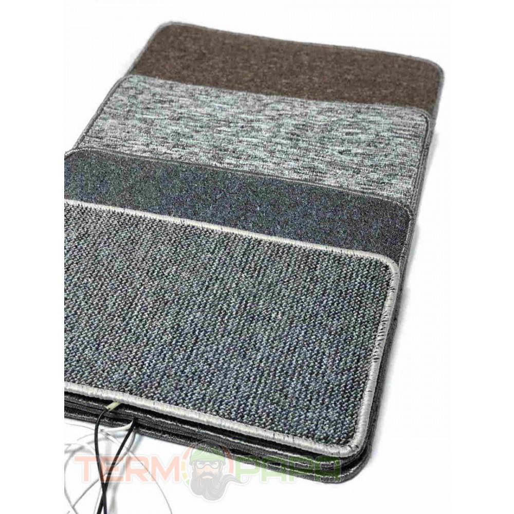 Электрический коврик нагревательный для ног, 50 х 43, Серый